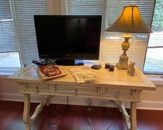 Faux painted desk