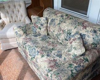 Two sleeper sofas