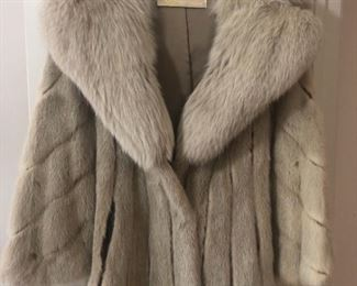 Light Mink Jacket
