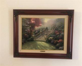 Thomas Kinkade Stairway to Paradise