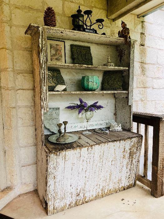 Antique pine NOLA cupboard