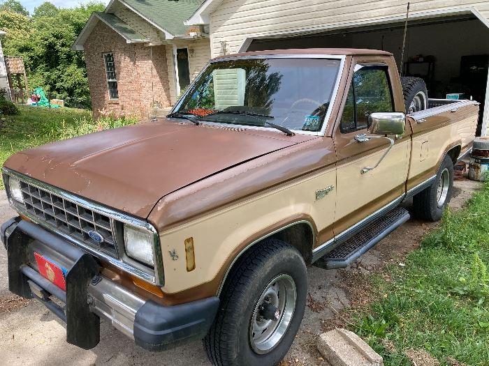 1985 Ford Ranger Pick up