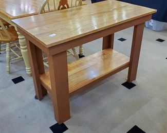 This hand-made table is well built - many possibilities for it!