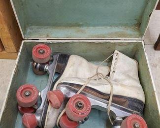 Vintage precision platinum skates