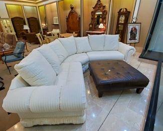 SO NICE!  Sectional - like new!  (We have two sectionals in this sale)