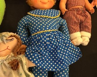 Mrs. Beasley - and other antique dolls!