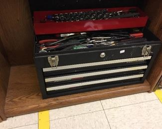 Loaded Craftsman tool box