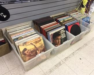 Classic country & contemporary lp's