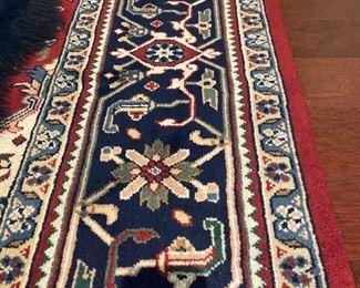 10x8 Handwoven Oriental Wool Rug
