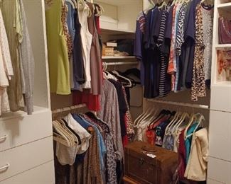 Women's clothes, shoes and coats
