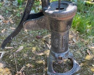 ANTIQUE CAST IRON DEMPSTER WATER WELL HAND PUMP