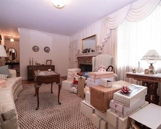 Doll collection and lovely Living room furnishings available.
