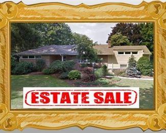 Haworth House Sale ~ Estate Sale
