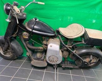 1958 Cushman Eagle Motorcycle