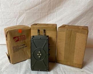Korean War Military Radio Receivers