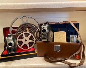 Vintage Cine Kodak Magazine Movie Cameras