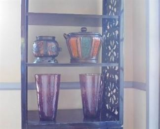 A Laquer Display Cabinet