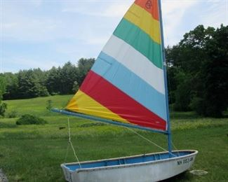 Dyer Dhow Dinghy boat