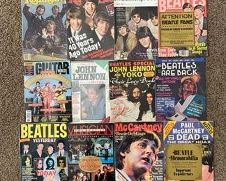 Vintage Beatles Magazines