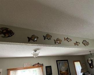 Ceramic fish set