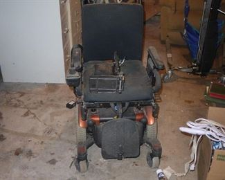 Quantum Motorized Wheelchair with charger.