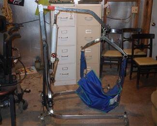 Patient lift/hoist hydraulic