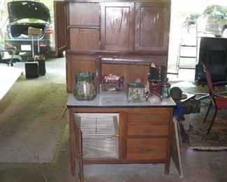 Antique Baker Cabinet
