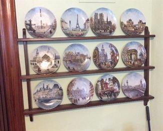collector plates of paris