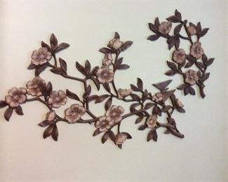 cherry blossoms wall hanging