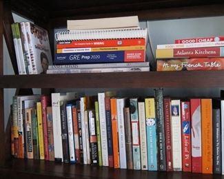 Cookbooks, Novels, DVDs