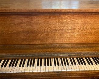 Piano came out of St. Louis Public schools. Beautiful piano that could also be reimagined