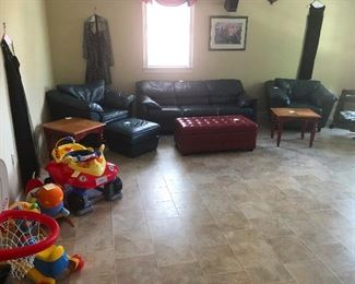 P90X workout area