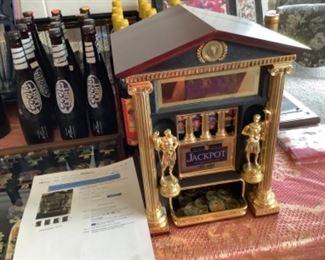 Franklin Mint Caesar's Palace slot machine.
