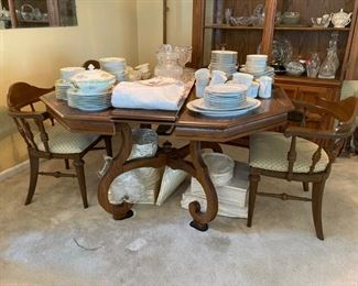 13 Dining Room Table and 4 Chairs