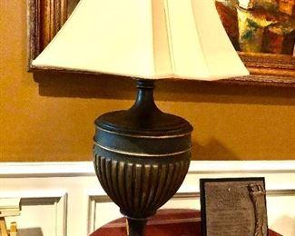 LARGE BROWN LAMP