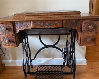 Ornate Richmond Treadle Sewing Machine