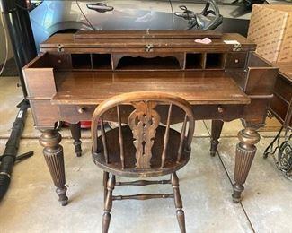 4 Antique Desk