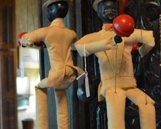 Pair of Antique Marionettes