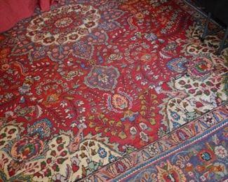 Vintage wool rug  -