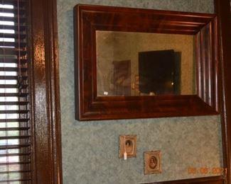 Antique empire mirror
