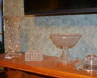Fostoria- crystal- glassware