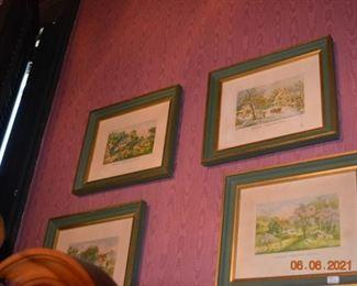 Vintage Currier and Ives Prints