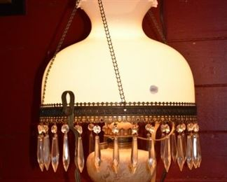 Antique Hanging Lamp- pully