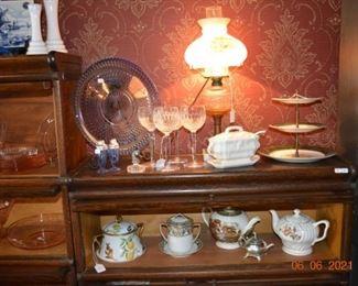 Waterford- tea pots- glassware