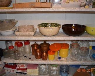 Vintage kitchen ware