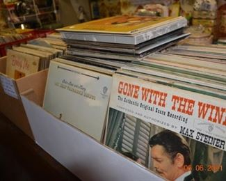 Vintage vinyl Records- over 400
