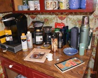 Coffee makers- coffee goods