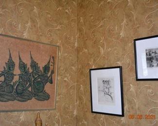 Asian Art- Diane Jones prints