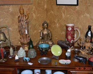 Asian and Hindu Decor