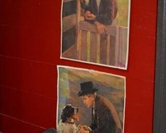 Vintage Dr Doolittle prints